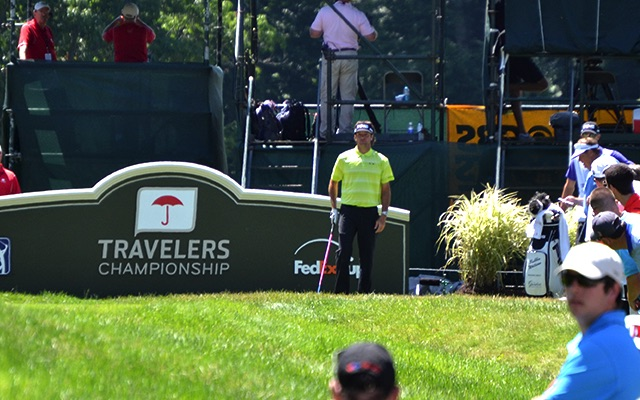 Bubba Watson at the Travelers Championship