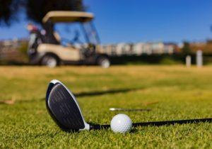 Golf club and golf cart