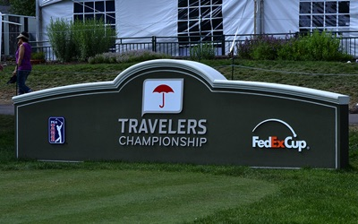 Travelers Championship sign