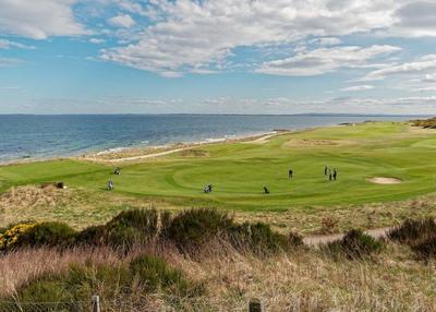 British Coastal Golf Course