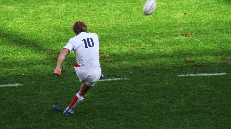Jonny Wilkinson Taking Kick