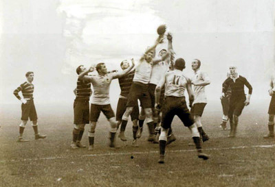 1908 Olympic Rugby Final Between Australia and Britain