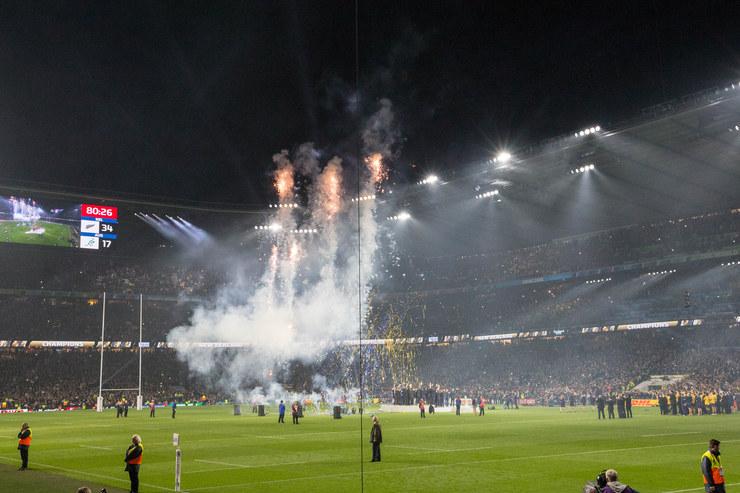 Rugby World Cup 2015 Trophy Presentation