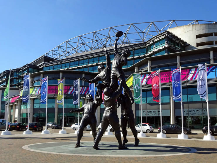 Twickenham Stadium During 2015 Rugby World Cup
