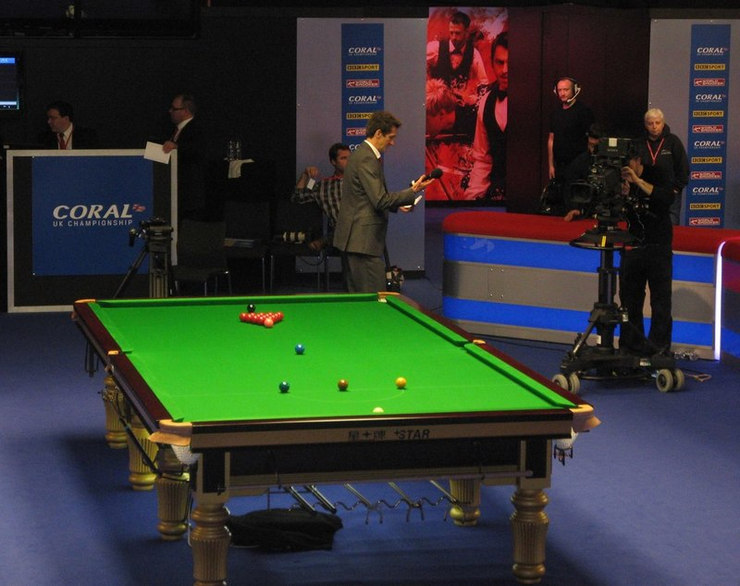 UK Championship Snooker Match at the Barbican in York