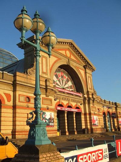 Alexandra Palace During Darts World Championship