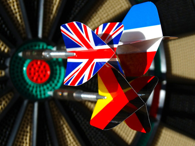 Darts Flights of Different Flags