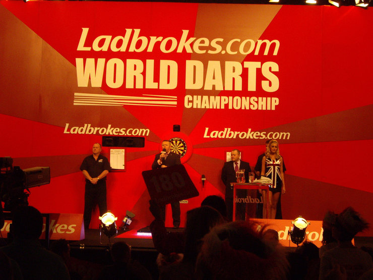 PDC World Championship Darts Stage