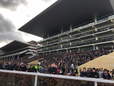 The Crowds at the Cheltenham Festival