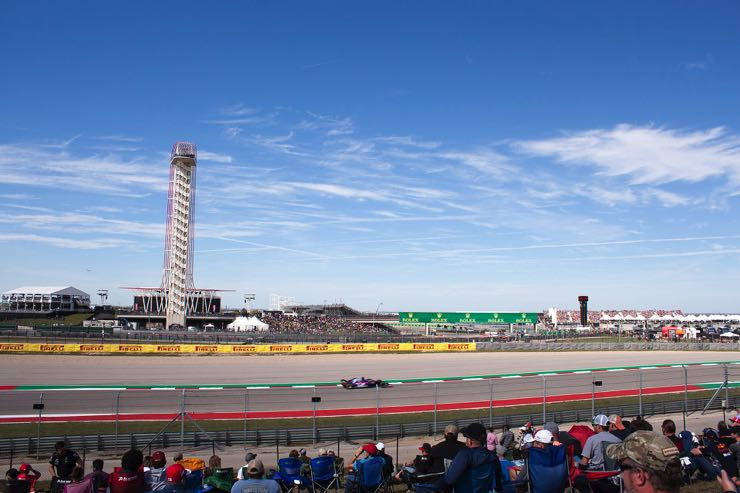 Circuit of the Americas in Austin, Texas - Home of the US Grand Prix