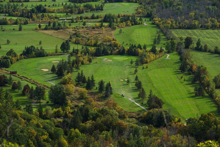 Golf course in Quebec, Canada