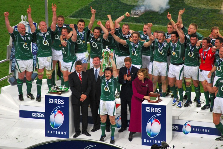 Ireland were the 2009 Six Nations Champions