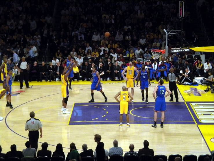 Rivals, the Los Angeles Lakers versus the Los Angeles Clippers