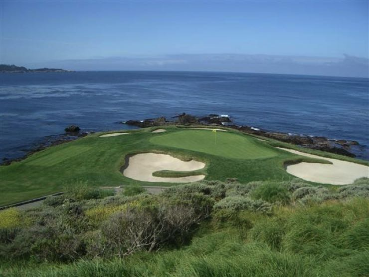 Pebble Beach Golf Links in Monterey, California