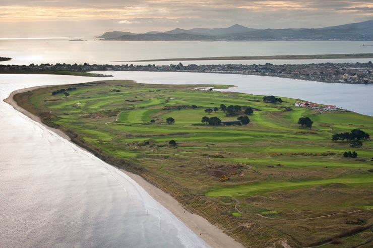Portmarnock Golf Club in Dublin