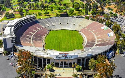The Rose Bowl in Pasadena, California
