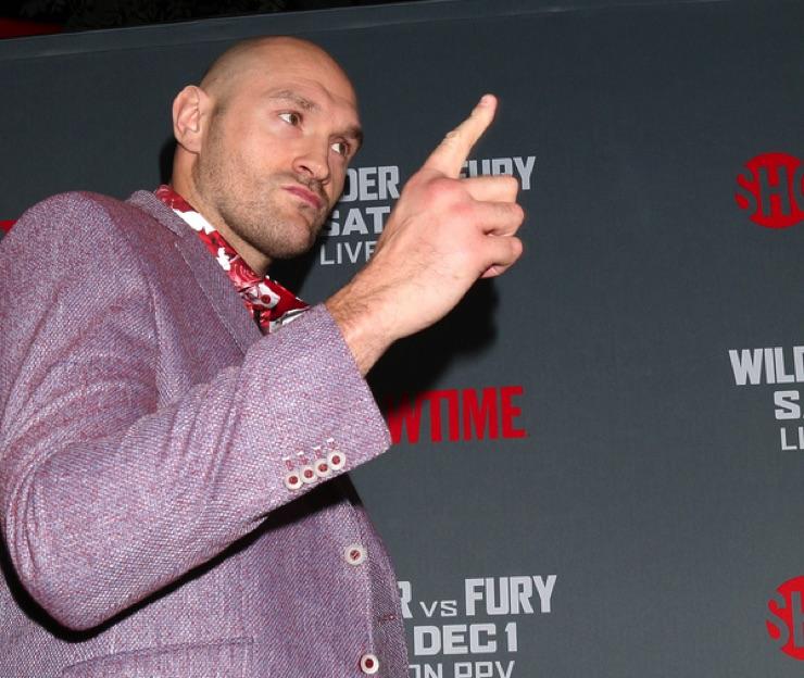 Tyson Fury, UK Boxer