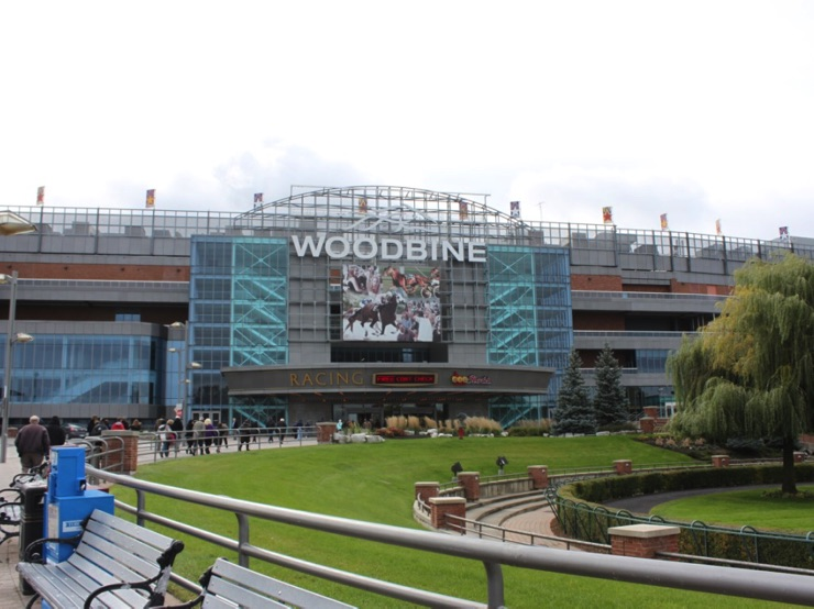Woodbine Racetrack in Toronto