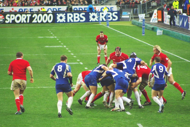 France vs Wales in the Six Nations