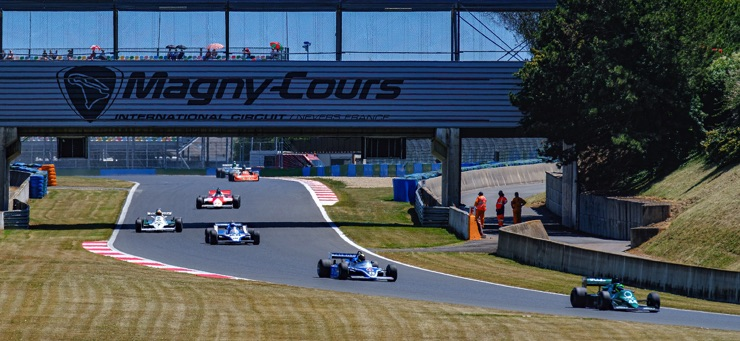The French Grand Prix at Magny-Cours