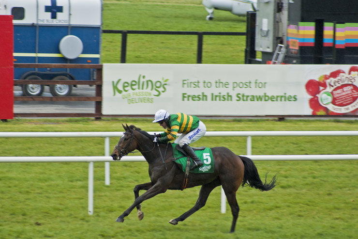 AP McCoy Riding at Fairyhouse