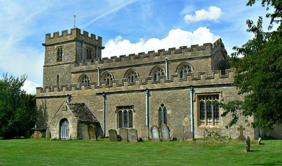 Church of All Saints, Oaksey, Wiltshire