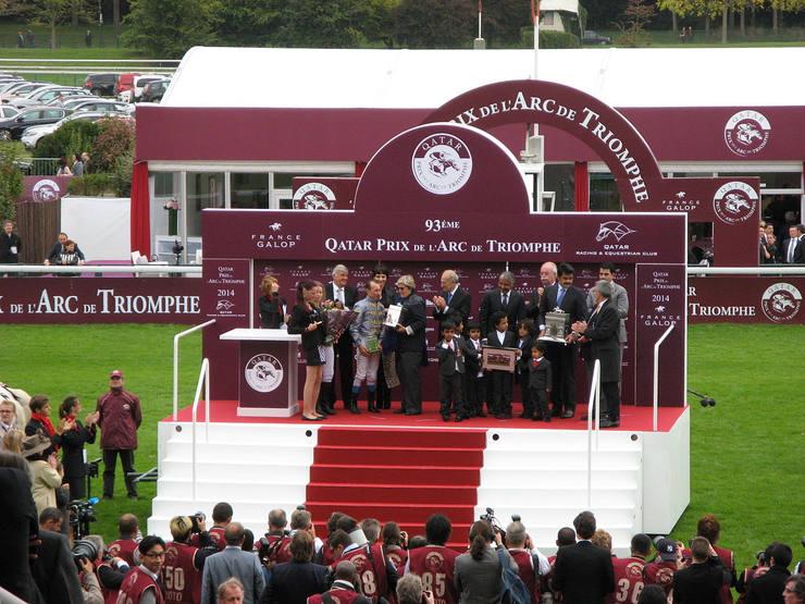 Presentation to the Winners of the Prix de l'Arc de Triomphe
