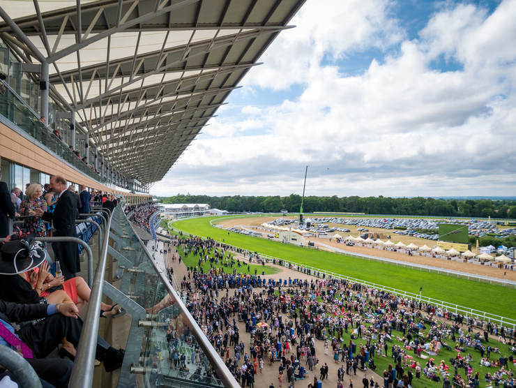 View of Ascot Racecourse form Grandstand