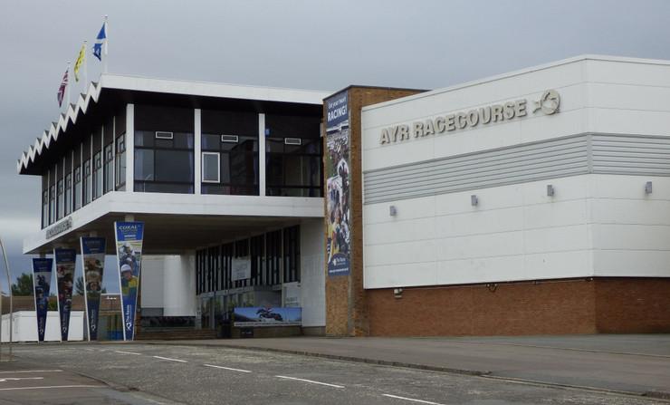 Ayr Racecourse Entrance