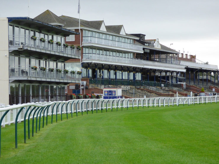 Ayr Racecourse and Grandstands