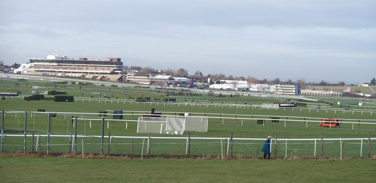 Cheltenham Racecourse from Park Lane