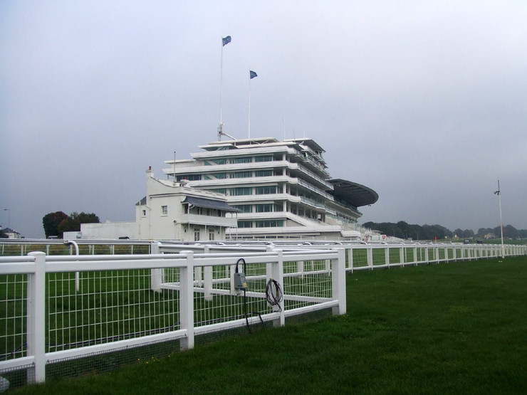 Grandstands at Epsom Racecourse