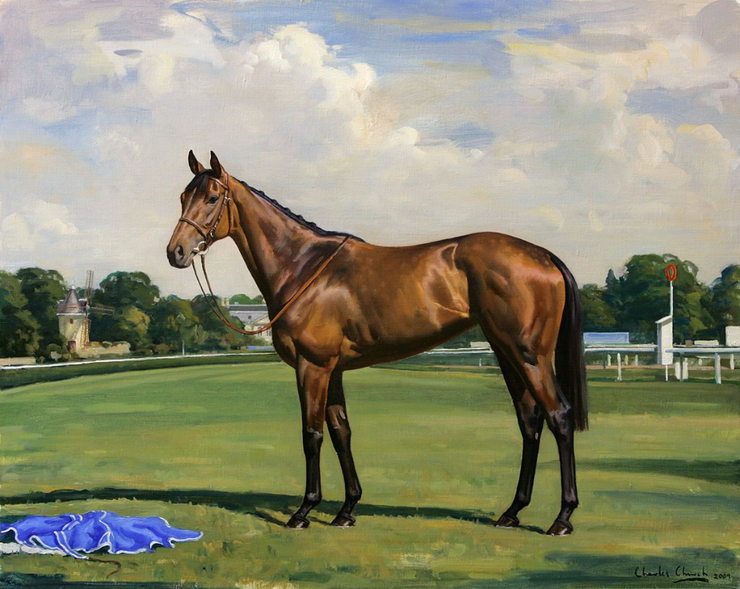 Painting of Goldikova