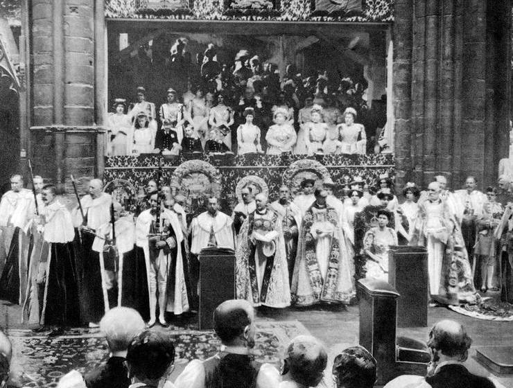 Coronation of King George V in 1911