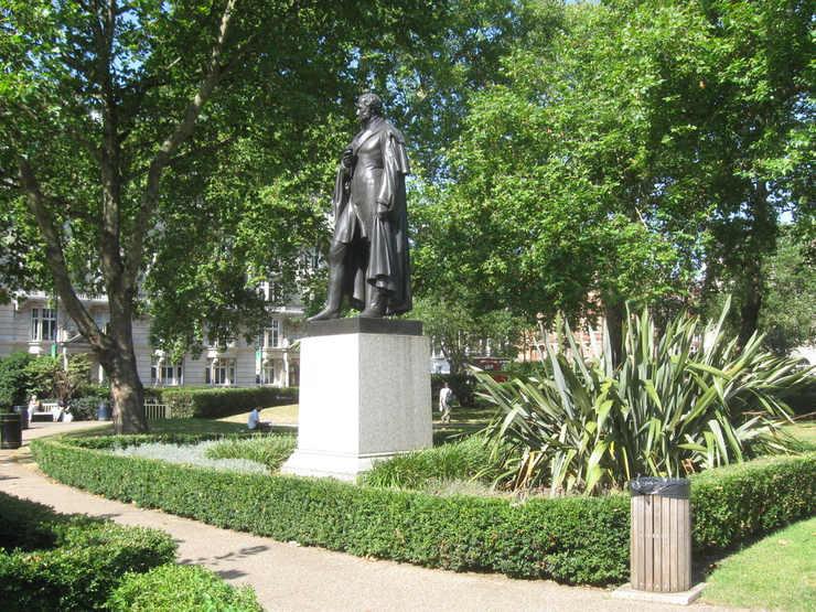 George Bentinck Memorial in Cavendish Square, London