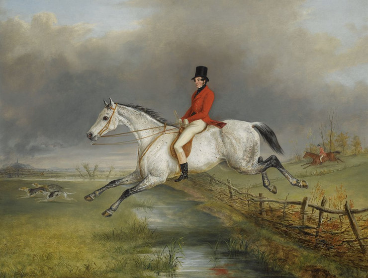 Painting Showing the Master of the Royal Buckhounds
