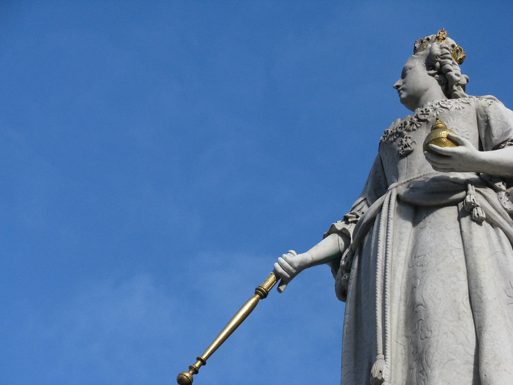 Statue of Queen Anne at St Pauls Cathedral