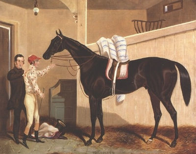 Painting of Voltigeur by William Barraud