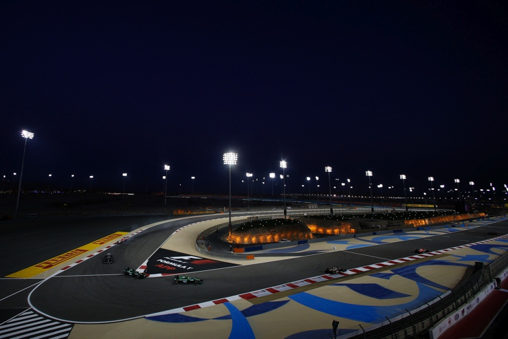 Bahrain's Floodlit Track in 2014