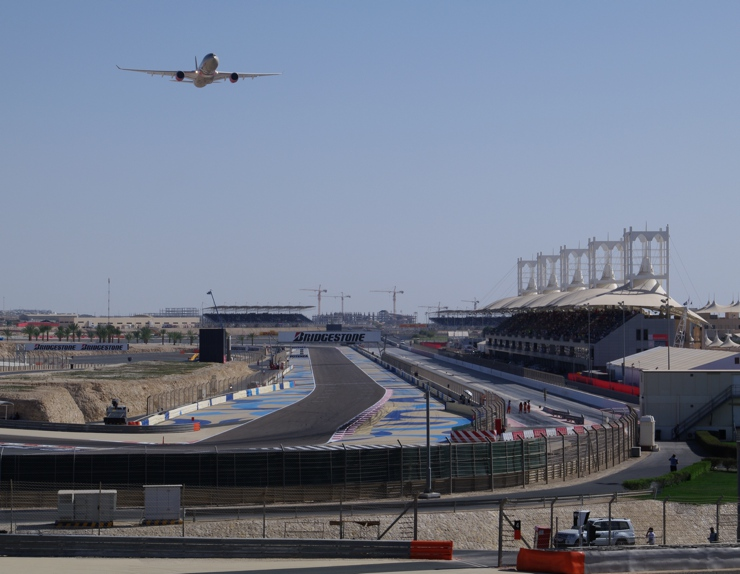 Bahrain Grand Prix Track in 2010