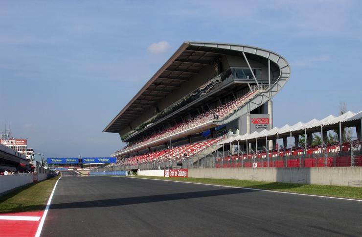 Circuit de Barcelona-Catalunya Start Line