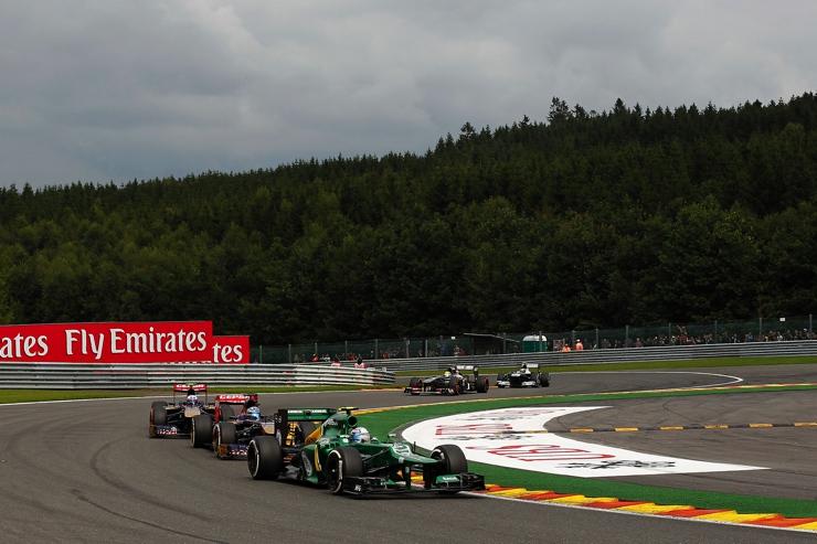 Belgian Grand Prix Drivers 2013