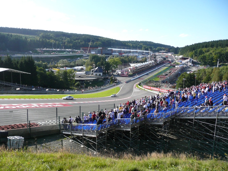 Belgian Grand Prix Track