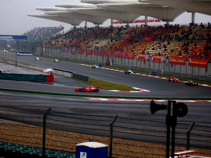 Chinese Grand Prix Stands & Track 2006