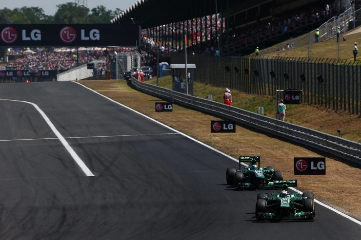 Hungarian Grand Prix Track 2013