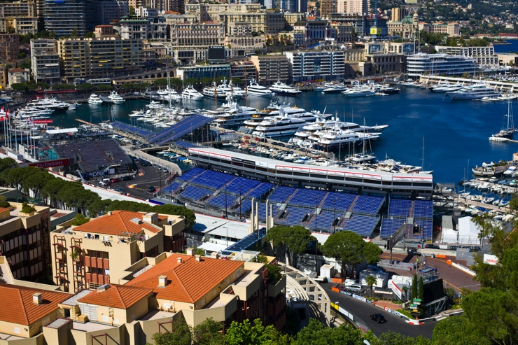 2016 Monaco Harbour & Monte Carlo Casino During the 2016 Monaco Grand Prix