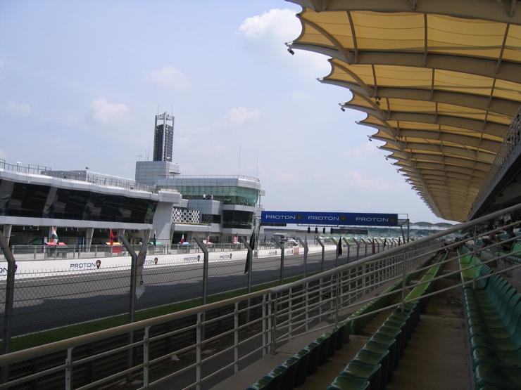 Sepang International Circuit Grandstand