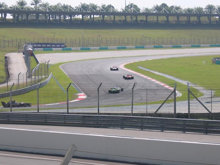 Sepang International Circuit Track