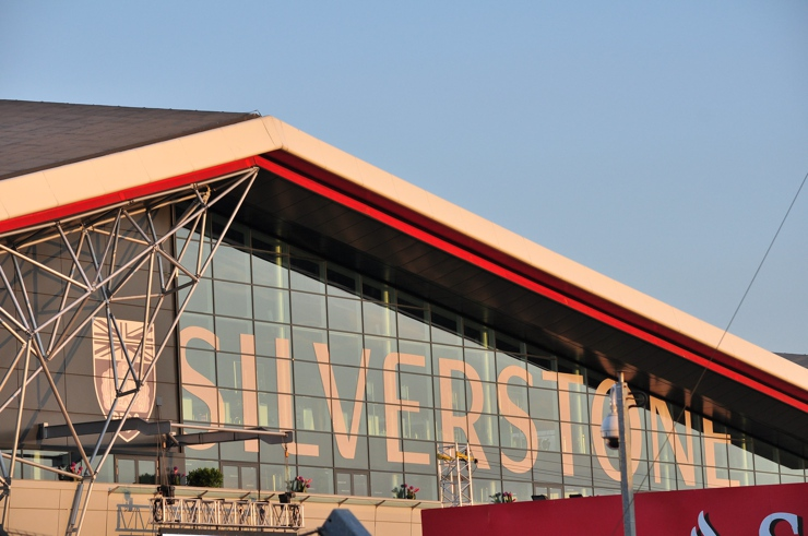 Entrance to the Silverstone Circuit, 2014