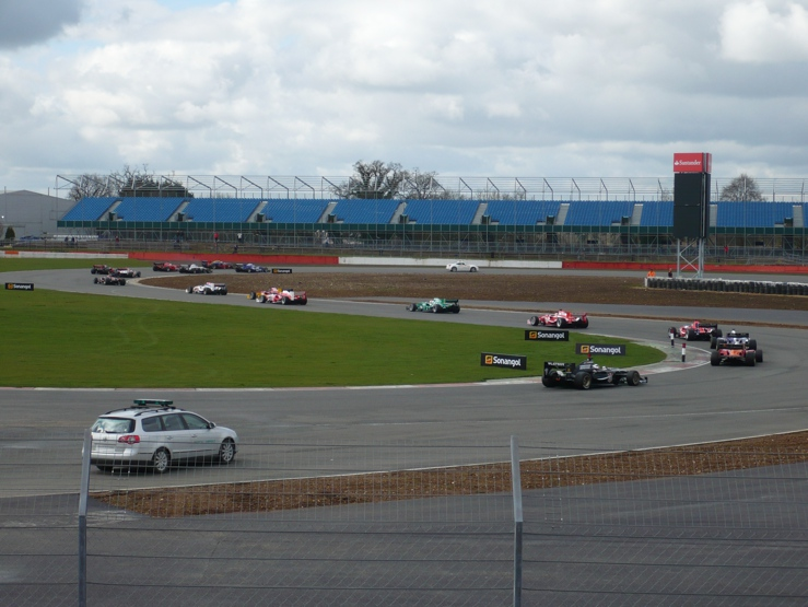Silverstone Circuit Brooklands Corner